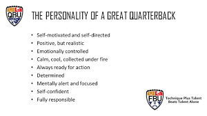 calm cool collected 2015 master guide the personality of a great quarterback self
