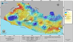 North America Precipitation Map by El Salvador Rainfall Map 2002