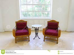Red Sofas In Living Room by Red Classical Style Armchair Sofa Couch In Vintage Room Vintage
