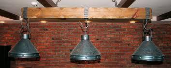 rustic pool table lights log pool table lights rustic billiards