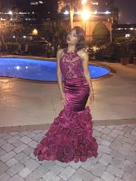 floral mermaid prom dresses backless evening gowns 2017