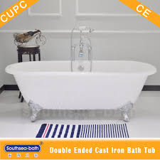 nh 1001 cast iron clawfoot bath tub with white enamelled buy