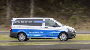 mercedes commercial mercedes to introduce a new range of electric vans