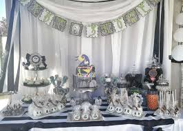 nightmare before christmas baby shower decorations nightmare before christmas baby shower party ideas photo 10 of