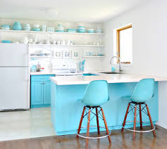 Turquoise Kitchen Island a budget friendly turquoise kitchen makeover dans le lakehouse