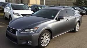 lexus sedan gs lexus certified pre owned 2013 gs 350 awd grey on saddle tan