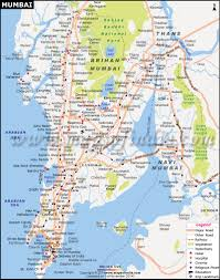 India States Map Mumbai Maharashtra City Map Information And Travel Guide