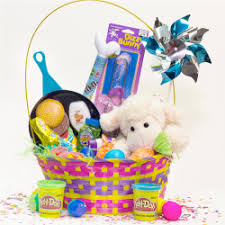 pre made easter baskets for toddlers ideas for easter baskets heb