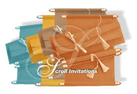 wedding cards in india scroll wedding invitations indian scroll marriage cards low