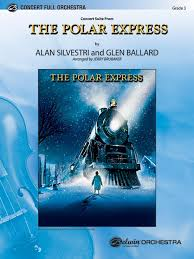 the polar express concert suite from full orchestra conductor