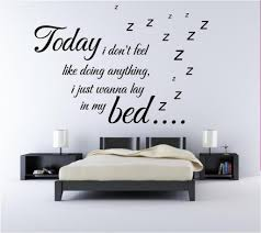Contemporary Bedroom Furniture Unique Decorative Wall Decals Quotes For Modern Bedroom Ideas
