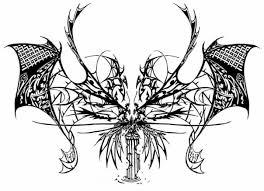 lower back dragon tattoo design best tattoo designs