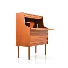 danish modern secretary desk early danish secretary in teak 1960s 63599
