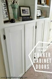 make shaker cabinet doors the easiest way to make shaker cabinet doors leap of faith crafting