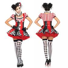 Sexey Halloween Costumes Halloween Costumes Women Naughty Harlequin Clown Costume