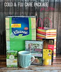 care package for someone sick cold flu care packages and a diy kleenex getwellsoon great
