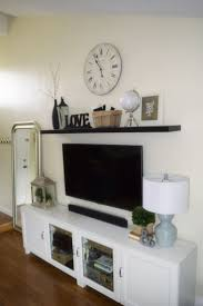 Tv Storage Units Living Room Furniture Best 25 Above Tv Decor Ideas On Pinterest Wall Decor Above Tv
