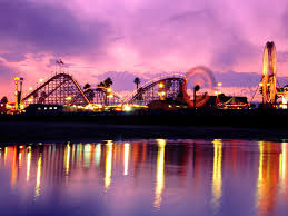 santa cruz boardwalk me and my best friend used to go here about