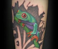 eyed tree frog 30 brilliant frog tattoos my ink