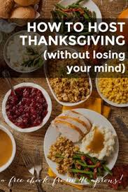 how to host thanksgiving dinner complete menu and recipes
