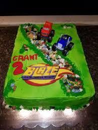 blaze and the monster machines birthday cake my cakes