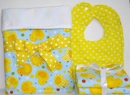Duck Crib Bedding Set Flannel Baby Blanket Baby Gift Set Rubber Duck Crib Blanket