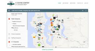 Amazon Seattle Map by Web Brendon Eisenbart
