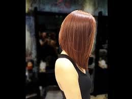 the wedge haircut instructions long bob haircut tutorial new bob haircut 2016 youtube