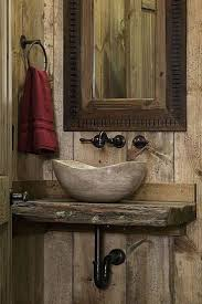 bathroom ideas about rustic bathroom sinks on barn with regard