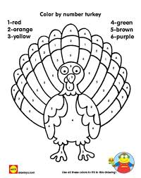 printable thanksgiving pages to color by number happy thanksgiving