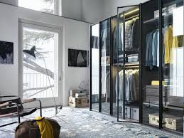 Outlet Lema by Glass And Aluminium Wardrobe Custom Aria Wardrobe Collection By