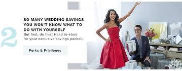 wedding registry benefits macy u0027s