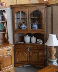 temple stuart corner hutch new england home furniture consignment