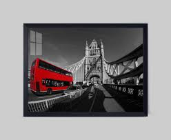 british london city landscape home decor no frame wall paintings
