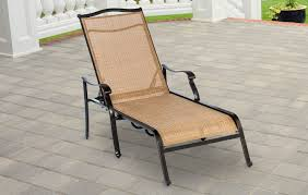 Patio Furniture Sling Back Chairs by Monaco Sling Back Chaise Lounge Chair Monchs