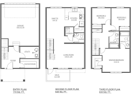 dalton new home floor plan altius townhomes streetside