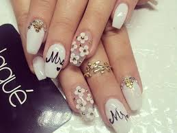 45 glam wedding nail art designs to try this year latest fashion