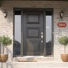 All Glass Doors Exterior Single Front Door With One Sidelight Images Front Doors