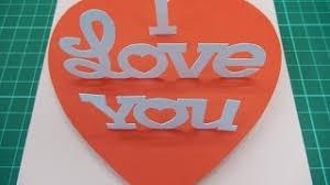 cara membuat kartu ucapan i love you ecouter et télécharger happy birthday cake pop up card tutorial en