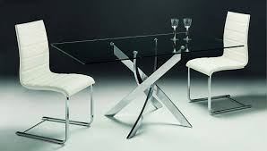 rectangle glass kitchen table appealing buy cluster rectangular glass dining table online cfs uk