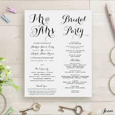 Order Wedding Invitations Wedding Order Template U2013 35 Free Word Pdf Psd Vector Format
