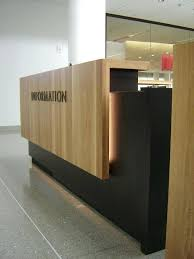 Reception Desk Wood Receptionist Desk Two Reception Desk Wood Receptionist Desk