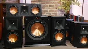 home theater subwoofer klipsch u0027s surround speakers are rock royalty