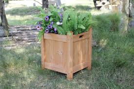 extra large wooden planters margarite gardens