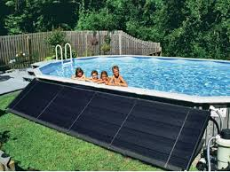 Cool Swimming Pool Ideas by Swimming Pool Solar Panel For Swimming Pool With Rooftop Design