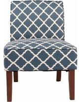 Geometric Accent Chair Elegant Blue Pattern Accent Chair On Outdoor Furniture With