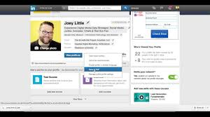 Print Resume From Linkedin How To Download Your Linkedin Profile As A Pdf Youtube