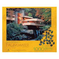 amazon com frank lloyd wright fallingwater jigsaw puzzle 1000