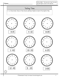 Ged Worksheets Telling Time To The Minute Worksheets Worksheets For Kids U0026 Free