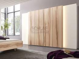 schlafzimmer thielemeyer cero thielemeyer kleiderschrank in wildkernbuche massiv und lack weiß